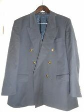 Navy Pure New Wool Mens Blazer Size 26