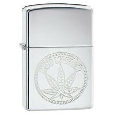 Zippo 29769 Bob Marley Marijuana Leaf High Polish Chrome Finish Lighter