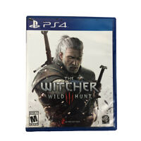 PS4 The Witcher 3 Wild Hunt PlayStation 4 Video Game With Manual 2016