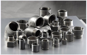 "STAINLESS STEEL 316 PIPE FITTINGS 150LB BSP 1/8"" To 4"" - VAT INVOICE PROVIDED"