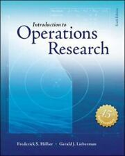 Introduction to Operations Research 10th Int'l Edition