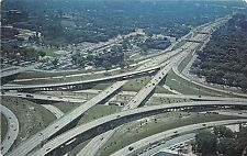 BG21458 junction of the edsel ford and the john lodge expressways detroit usa
