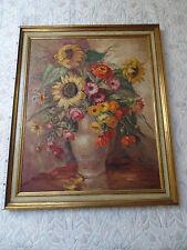 feines Stilleben Blumen von Dora Schmetz-Diel, Ehefrau von Wilhelm Schmetz