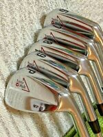 TaylorMade TP II Forged Iron Set 2-PW - RARE ( MIXED shafts- Stiff & Regular )