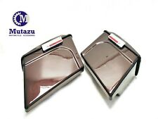 """Mutazu Black Cherry 4"""" Stretched Extended Saddlebags Saddle bags for HD Touring"""