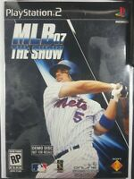MLB 07: The Show (Sony PlayStation 2, 2007) Demo Disc cardboard sleeves