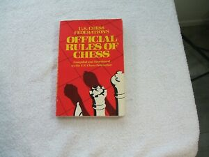 U.S. Chess Federation's Official Rules Of Chess ~ 1984 ~ 196 Pages