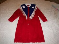 Dolores' Unique Designs Mohair Coat with Fringe Trim- USA Design