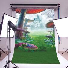 Wonderland Castle Vinyl Backdrop Photography Background Background 5X7FT 2569