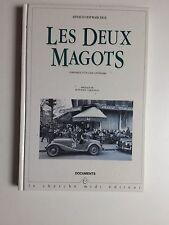 Les deux Magots - café littéraire à Paris