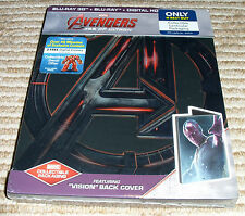 *Best Buy Exclusive* Avengers: Age of Ultron! Vision Cover! 3D + Blu-Ray+ DigHD!