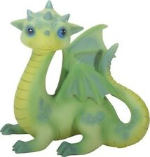 Green Baby Dragon Fiona Fantasy Figurine Statuette Mythical Fairy Tale Décor New