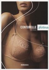 Felina Conturelle ROMANCE Gr.75C 34C Bügel BH 80501 Mandel Bra underwired