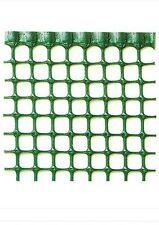 RETE IN PVC RECINZIONE BALCONE PROTEZIONE BAMBINI H100 PLASTICA VERDE 1X1 CM