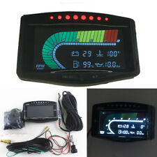 Multifunction Car Digital Gauge Oil Pressure Volt Temp Fuel Tachometer Indicator