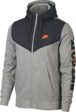 Nike Men's Sportswear Full-Zip Fleece Hoodie - [931900-063] - GREY Size XXL