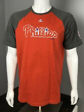 Philadelphia Phillies Red Big Leaguer Baseball T-Shirt