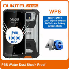 OUKITEL WP6 48MP Moviles 4G Global Android9.0 6GB+128GB telefonos 10000mAh IP68