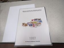 TIMBRES STAMPS AUTRICHE OSTERREICH NEUF ANNEE 1997 Jahreszusammenstellung *