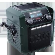 camping Survival Solar Charging Emergency Weather Radio Portable Usb Am Fm noaa