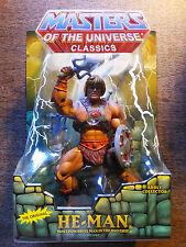 Mattel Matty MOTU Classics HE-MAN THE ORIGINAL  Figure  2nd PRINT NEW rare
