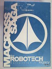 ROBOTECH COLLECTION 1/ 3DVD SET FIRST CONTACT TRANSFORMATION MACROSS SAGA EXTRAS