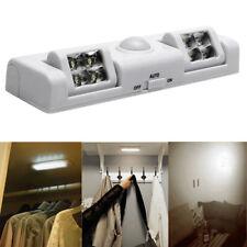 8 LED PIR Motion Sensor Cabinet Light Bar Cupboard Closet Lamp Home Lighting