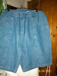 shorts  jeans schlupf herrnhose gr 52