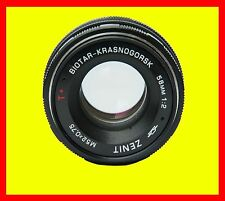 Biotar-Krasnogorsk lens f/2/58mm M42 MOUNT,8 blades,new-old stock, kit in box