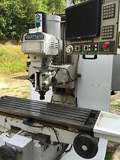 Milltronics Partner Mb20 3 Axis Cnc Milling Machine New Centurion 6 Cnc Control