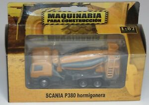 SCANIA P380  CEMENT MIXER CONSTRUCTION MACHINERY 1:87 DIECAST COLOMBIA