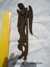 FER FORGE Forgé Archange ange saint grille croix eglise cimetière chateau church