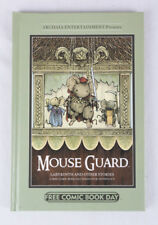 Mouse Guard, Signed by David Petersen & Jeremy Bastian, Stated 1st Printing, EX