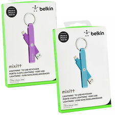 Belkin Flexible iPhone Xs/8/7/6S/5S/SE Lightning USB Charge Sync Cable keychain