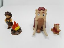 Deagostini Dinosaurs & Friends - Woolly Mammoth Family & Caveman & Fire