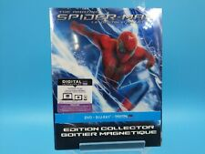 neuf film blu ray edition collector magnetique spider man destin d'un heros