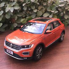 1:18 SVW VOLKSWAGEN T-ROC orange-red COLOR diecast model + gift