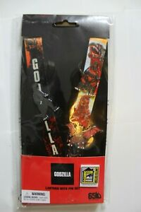 2020 SDCC Exclusive Godzilla Laynard and Pin Set by Monogram Limited Edition