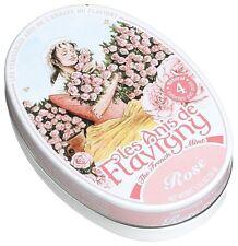 Les Anis De Flavigny Rose Mints 1.75 Ounce Tin