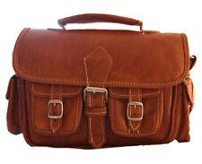 Sac bandoulière cuir neuf artisanal vintage authentique marron original