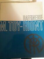 Raffinerie Maurice Toy-Riont Marseille 1965 livre de cuisine recettes
