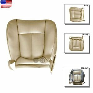 Driver Side Bottom PERFORATED Leather Seat Cover Tan for 2011 - 2016 Ford F550