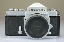 Nikon Nikkormat FT Only Body Reflex Cromata Made in Japan 1970s