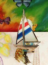 👀Bath Body Works Beach Colorful Sailboat Nightlight Wallflower fragrance Plug