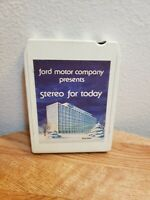 1980 Ford Motor Company presents Stereo for today 8 track tape cartridge 79-80