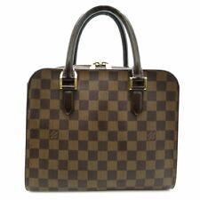 LOUIS VUITTON TRIANA HAND TOTE BAG PURSE DAMIER CANVAS N51155 USED