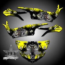 Yamaha YXZ1000R YXZ 1000 R Graphics Kit Wrap Decal Outlaw Yellow