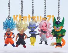 Dragonball UDM BURST 36 Mascot Keychain Complete set 5pcs Figure BANDAI Gashapon
