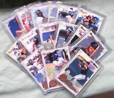 1997 Bowman Scout's Honor Roll Baseball Card Set SHR1-SHR15