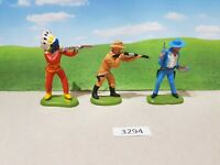 Britains Herald Wild West Cowboys and Indian (lot 3294)